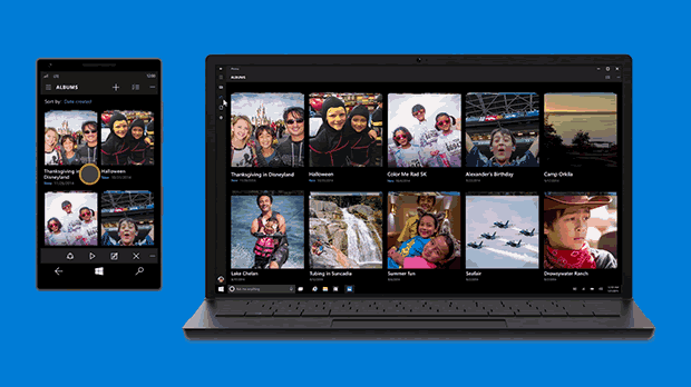 ئەپی Windows Photos لە ویندۆز ١٠ و ئامێرەکانی دیکە